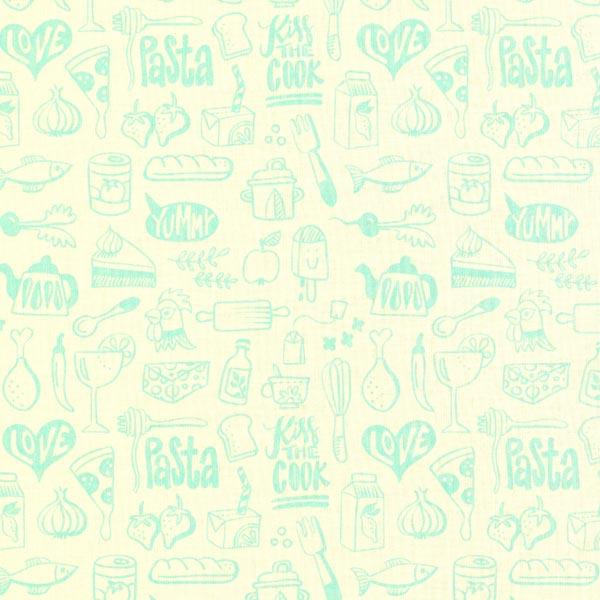 Coton Bio In My Kitchen Menu | Hamburger Liebe – vert menthe