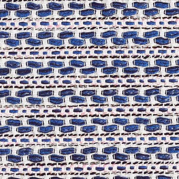 Bouclé Rayures – bleu