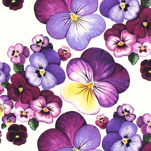 Arvidssons Textil – Halbpanama Viola 1