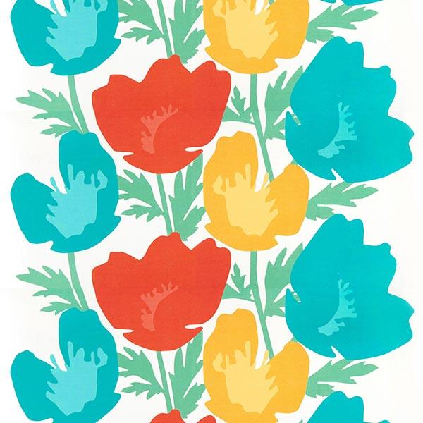 ARVIDSSONS TEXTIL – Tissu de décoration Semi-panama Donna – rouge