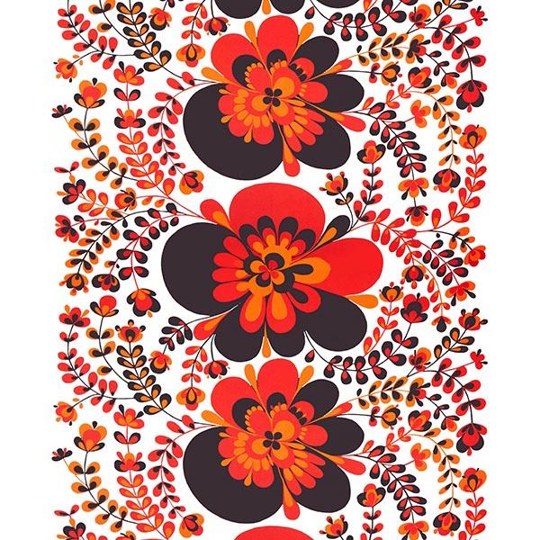 ARVIDSSONS TEXTIL – Tissu de décoration Semi-panama Viveka – rouge