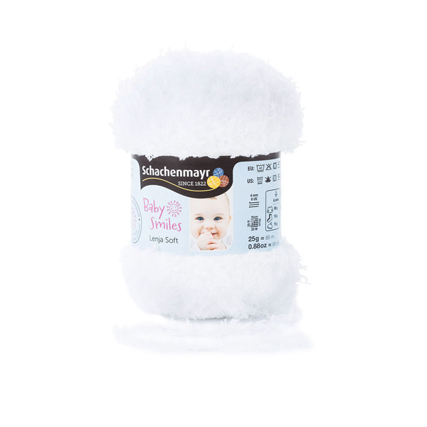Baby Smiles Lenja Soft – Schachenmayr, 25 g (1001)