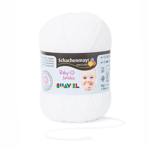 Baby Smiles Suavel, 50 g | Schachenmayr (1001)
