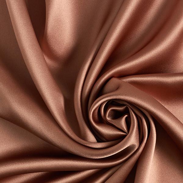 Seidensatin uni – caramel