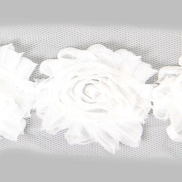 Dentelle à motif floral 1