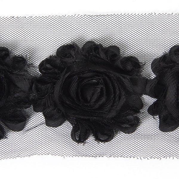 Blütenspitze [76 mm] - schwarz
