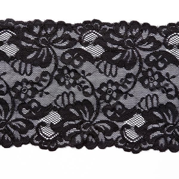 Elastische Spitze Selene [150 mm] - schwarz
