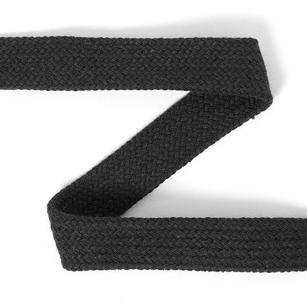 Cordon tubulaire pour sweatshirts à capuche [20mm] 7 - noir
