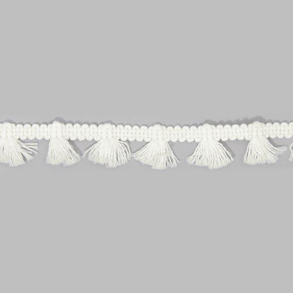 Fransenband [15 mm] - wollweiss