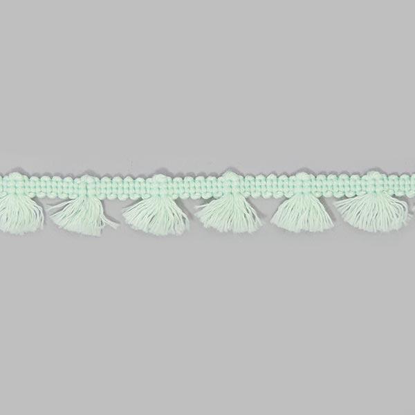 Galon à franges [15 mm] - vert menthe