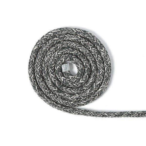Kordel Melange [Ø 4 mm] - dunkelgrau