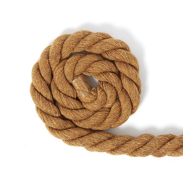 Cordon en coton [Ø 14 mm] 4 - marron clair