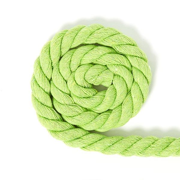 Cordon en coton [Ø 14 mm] 5 - vert clair