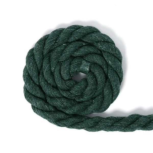 Cordon en coton [Ø 14 mm] 6 - vert
