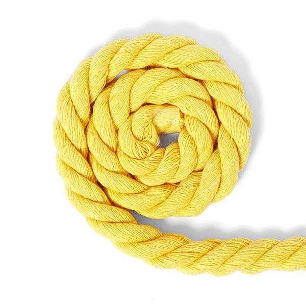 Cordon en coton [Ø 14 mm] 8 - jaune