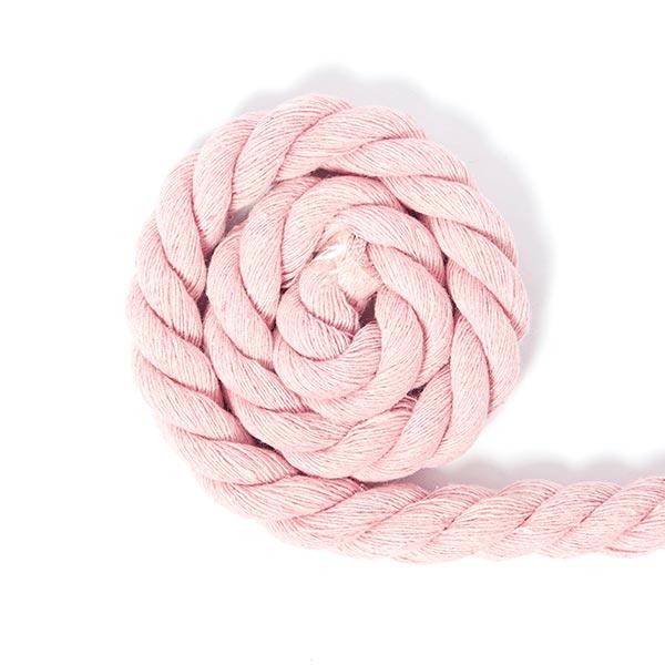 Baumwollkordel [Ø 14 mm] - rosa