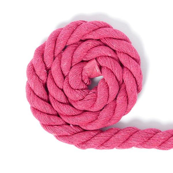 Cordon en coton [Ø 14 mm] 12 - rose vif