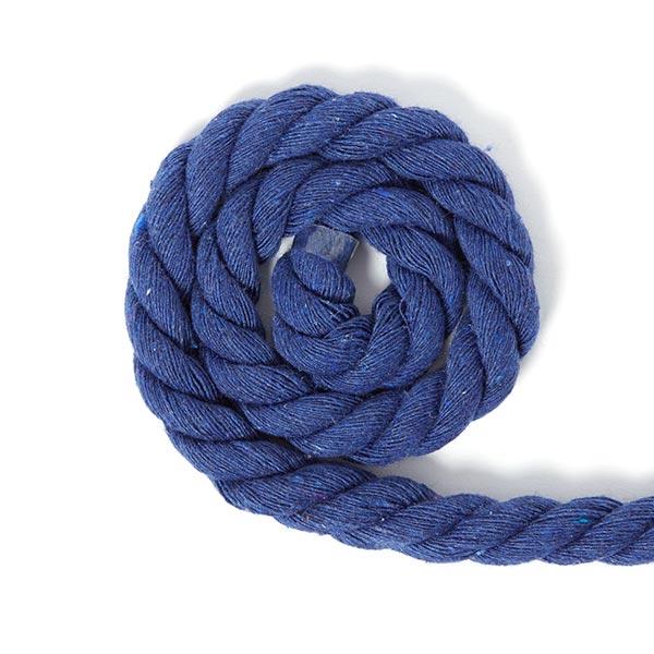 Cordon en coton [Ø 14 mm] 19 - bleu