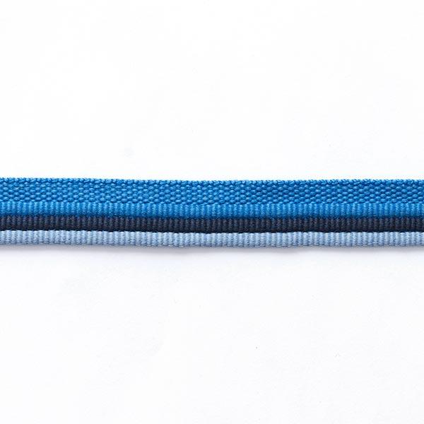 Trio passepoil [ 15 mm ] – bleu aqua/bleu pigeon
