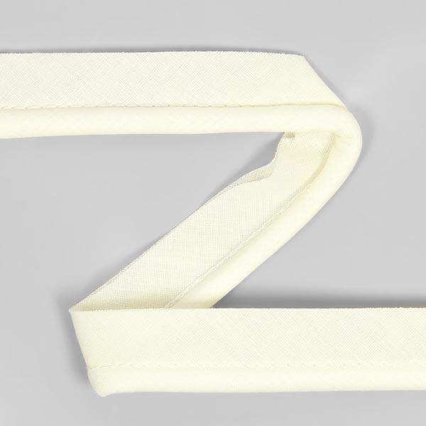 Galon passepoil en coton [20 mm] - blanc cassé