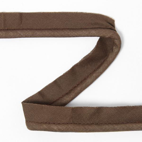 Galon passepoil en coton [20 mm] - marron