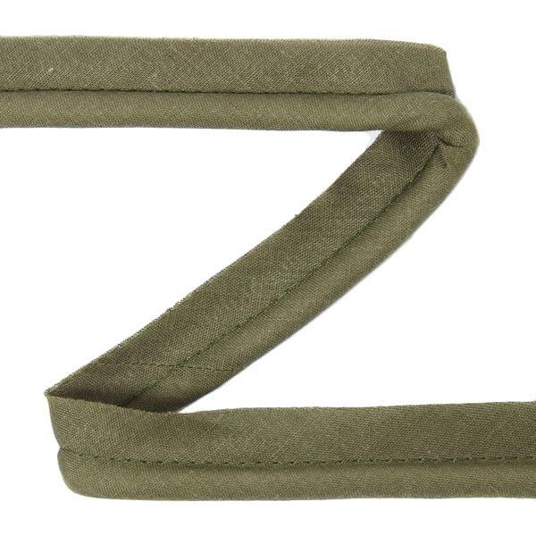Galon passepoil en coton [20 mm] - vert olive