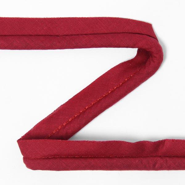 Galon passepoil en coton [20 mm] - rouge