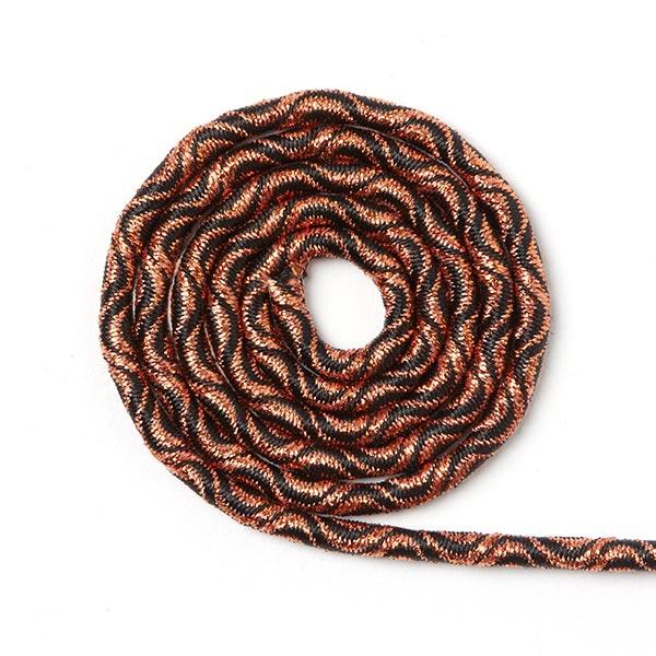 Cordon élastique Ondes [Ø 3 mm] - cuivre