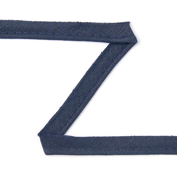 Passepoil en lin [10 mm] - bleu marine