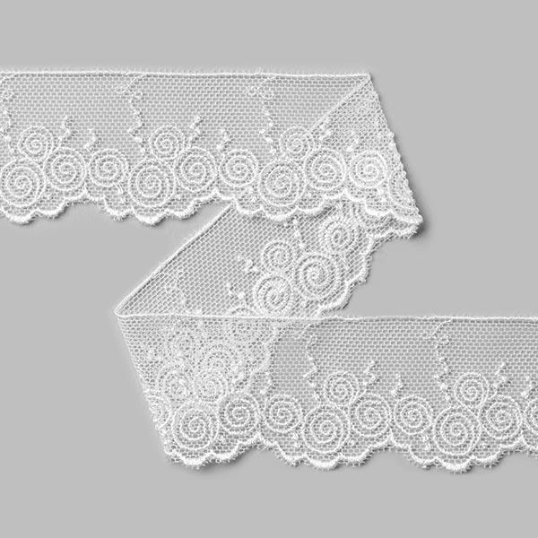 Dentelle de Valencienne [30 mm] - blanc