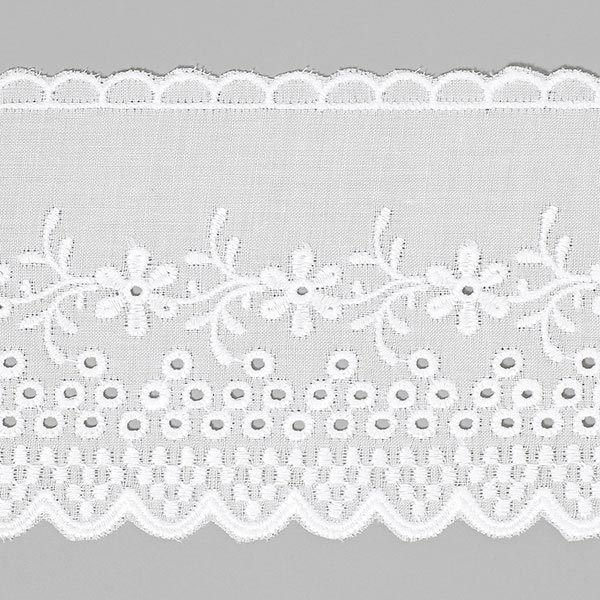 Broderie anglaise, 57mm – blanc