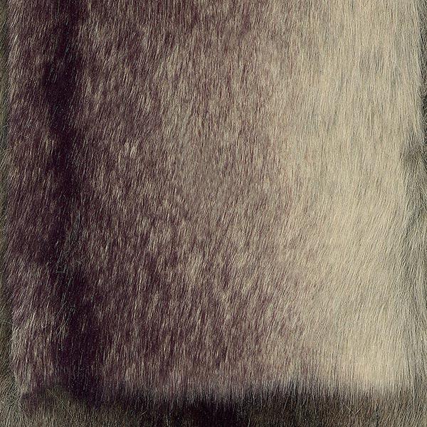 Kunstpelz [ 10 cm ] – hellgrau