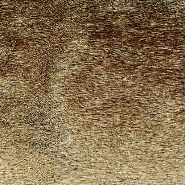 Kunstpelz [ 10 cm ] – hellbraun