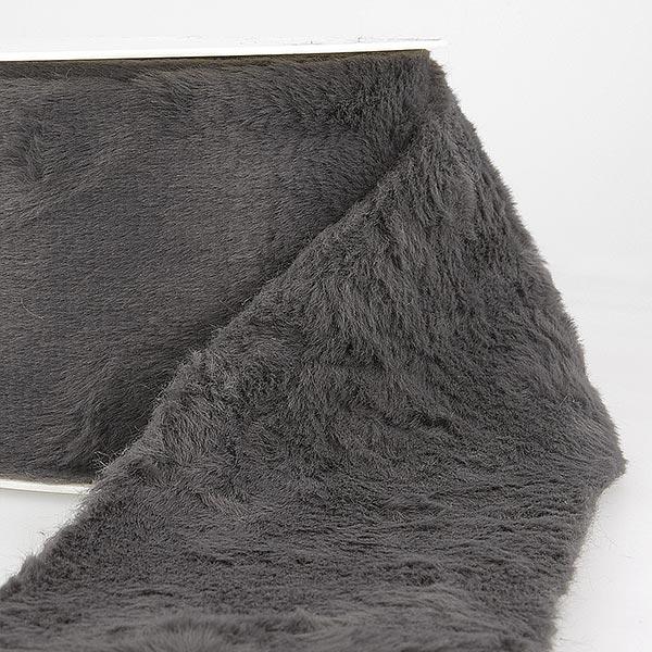 Kunstpelz [ 10 cm ] – grau