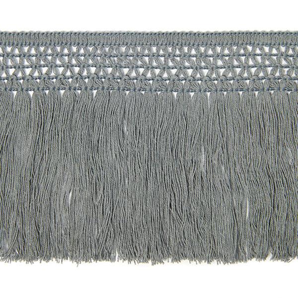 Bande à franges coton (10 cm) 7 – gris