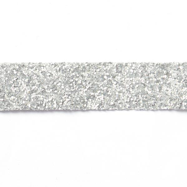Paillettenband Diva - silber