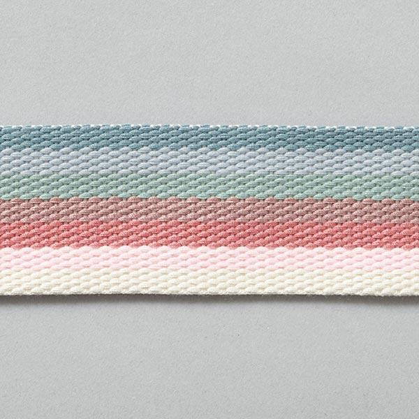 Mehrfarbiges Gurtband Regenbogen [40mm]
