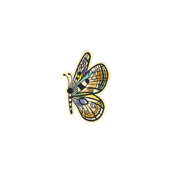 Application Papillon  – mélange de couleurs