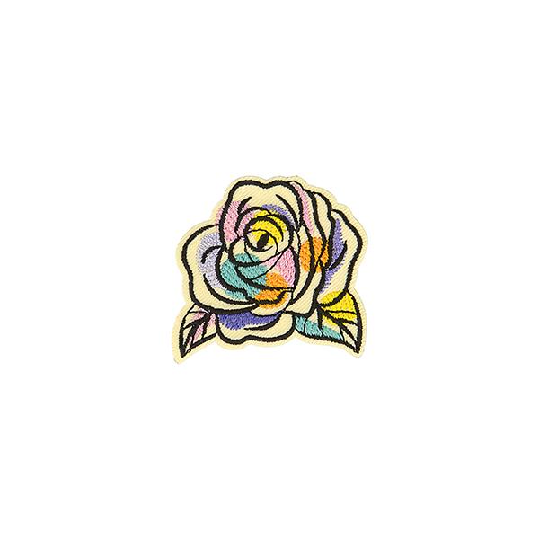 Application Rose  – mélange de couleurs