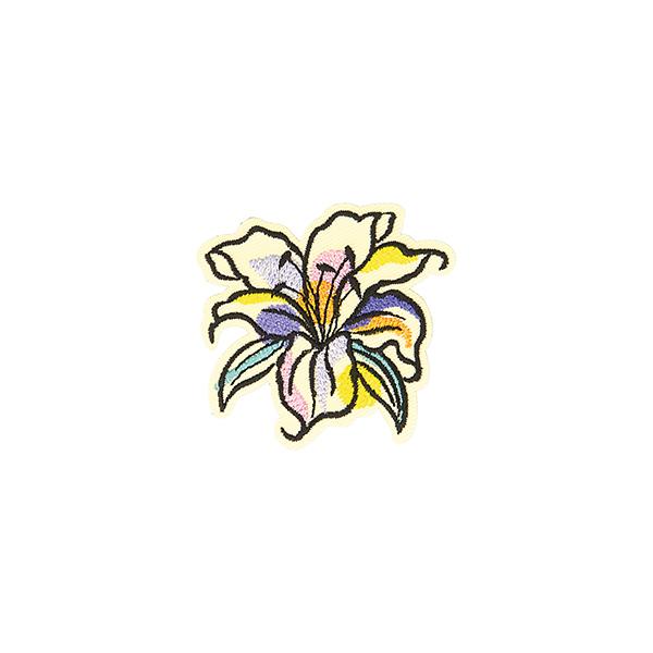 Application Fleur  – mélange de couleurs