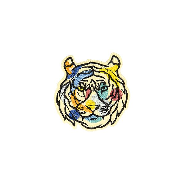 Application Tigre  – mélange de couleurs