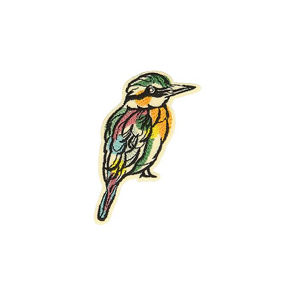 Application Oiseau  – mélange de couleurs