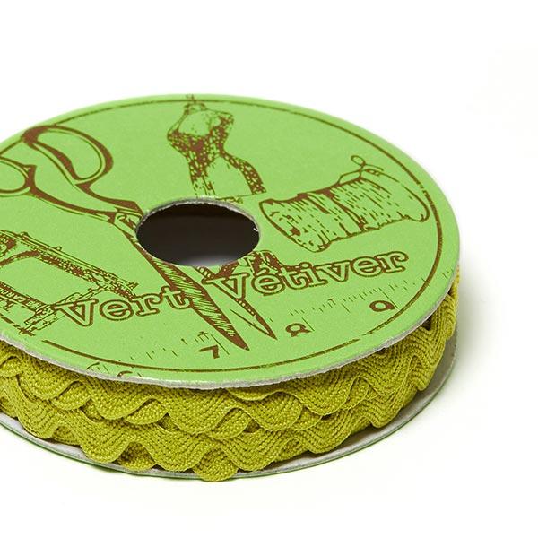 Galon dentelé, Mini bobine [2m]   6 – olive