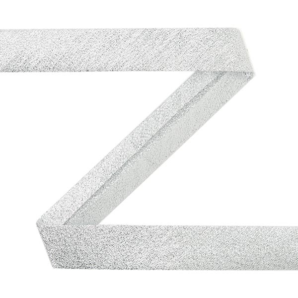 Biais Lurex [20 mm] - argenté