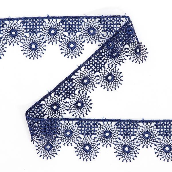 Dentelle au fuseau (30mm) 4 – bleu marine