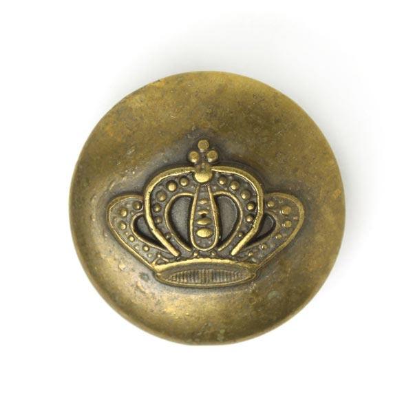 Bouton en métal Couronne 2