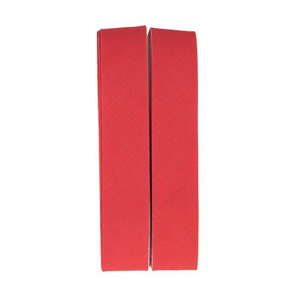 Biais thermocollant Uni [20 mm   2 m] - rouge vif