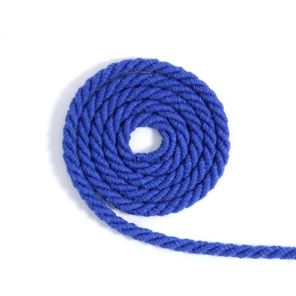 Baumwollkordel [Ø 5 mm] - königsblau