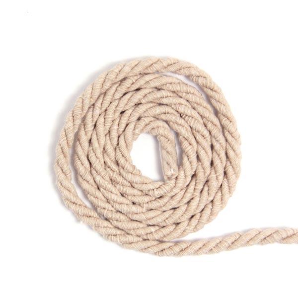 Baumwollkordel [Ø 5 mm] - beige