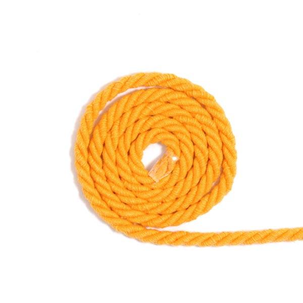 Baumwollkordel [Ø 5 mm] - sonnengelb
